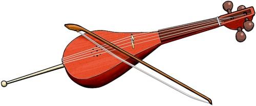 アゼルバイジャンの弓奏楽器... Bowed string instruments(Azerbaidjan)