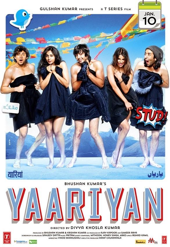 Yaariyan Hindi Movie Poster Yaariyan (2014) Bollyw...