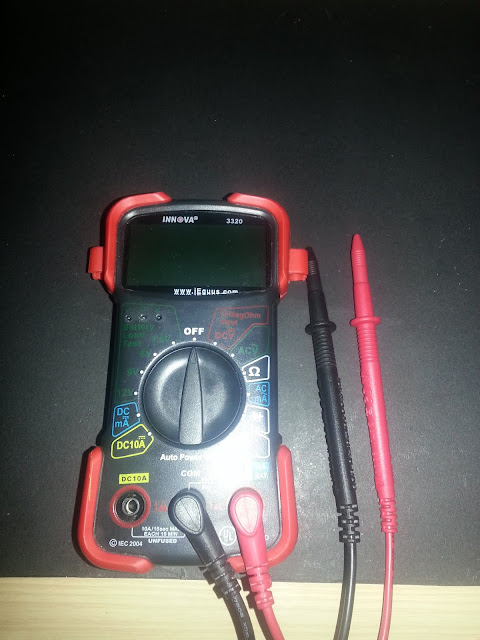 Diy Rickytlc1985 How To Use A Multimeter To Test For Continuity