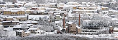 Barruelo de Santullán nevado