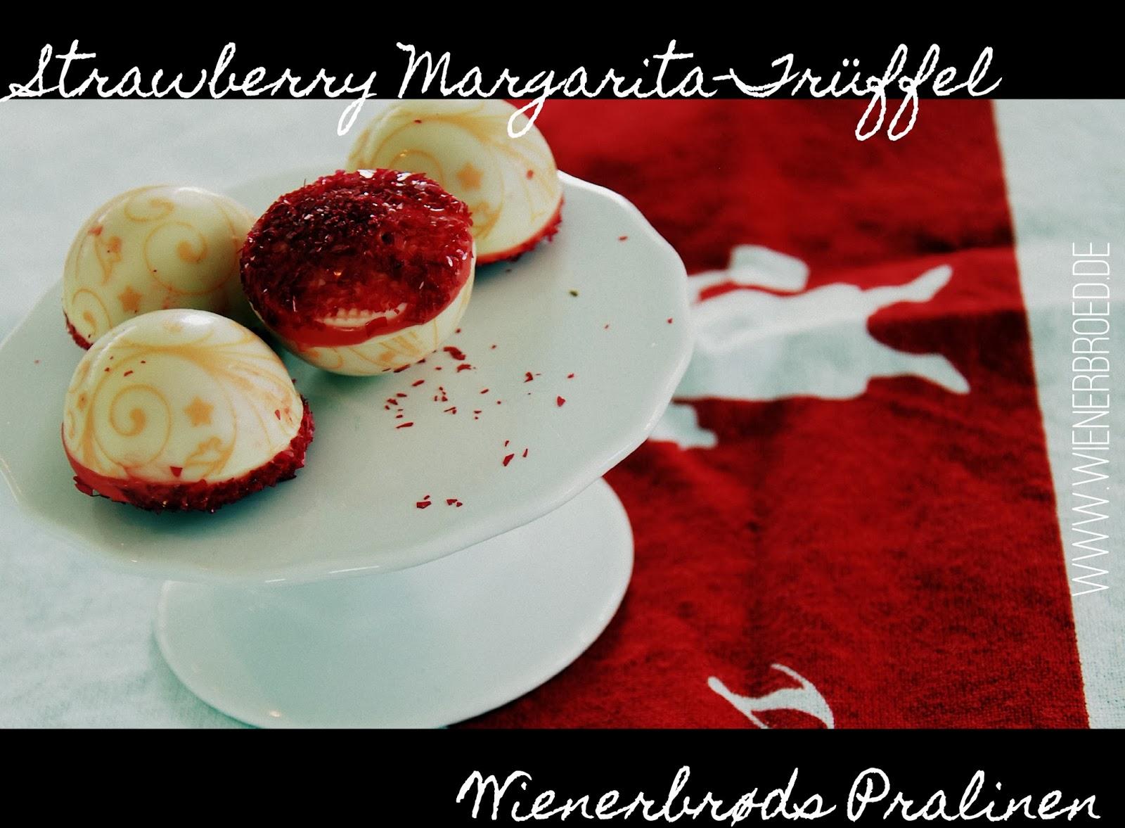 Strawberry Margarita Truffle