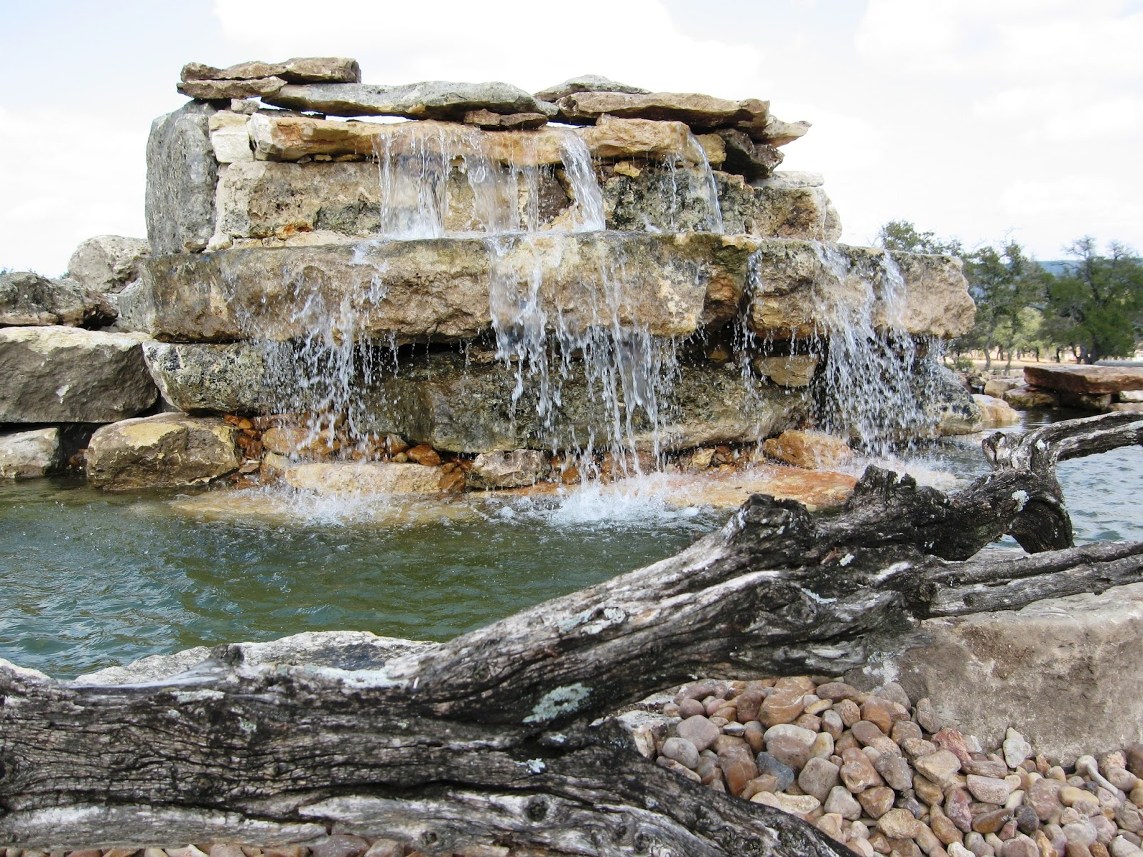 Preferred landscape and lighting different types of water features different types of water features aloadofball Images