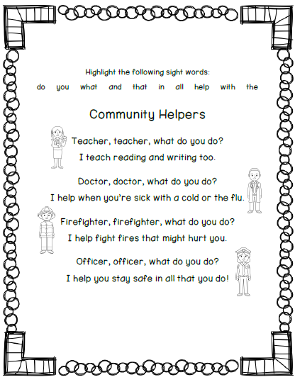 Community Helpers - Lessons - Tes Teach