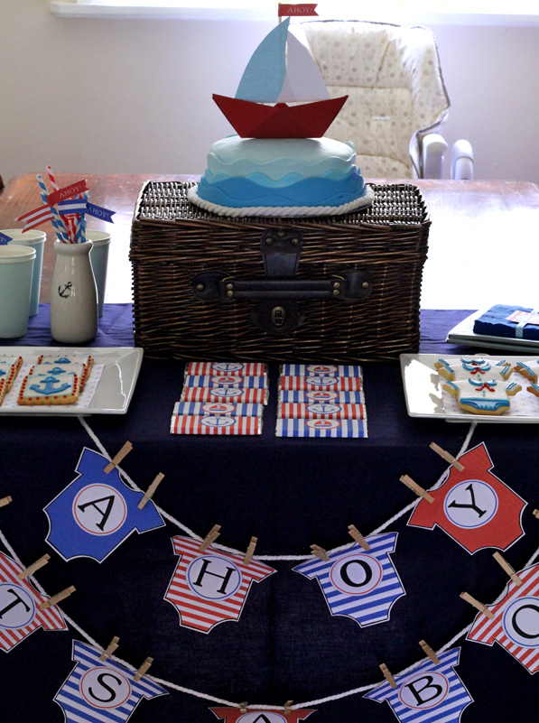 butter hearts sugar ahoy it 39 s a boy baby shower