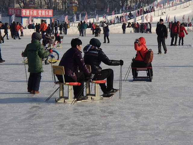 Songhua River Ski Chairs