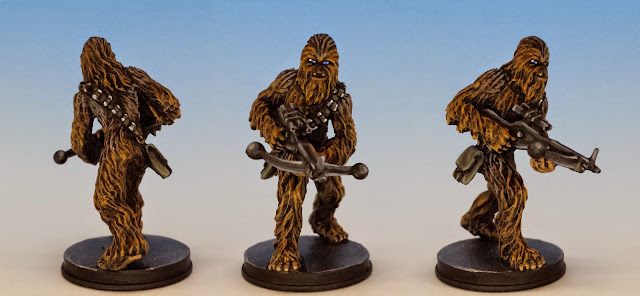 Chewbacca, Fantasy Flight Games (2014, sculpted by Benjamin Maillet, painted by M. Sullivan)