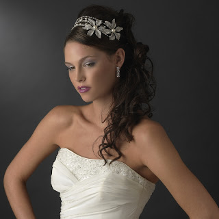 Wedding Crystal Vintage Headpiece