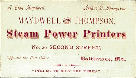The print guide the wayback view printshop business cards a few interesting business cards used by printers back in the day colourmoves