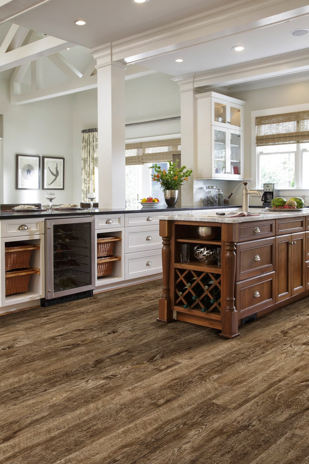 Vinyl Plank Flooring Kitchen Introducing Brand New Invincible H20 Flooring Mercer Carpet One