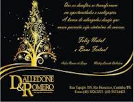 Dalledone & Romero Advogados Associados desejam a todos um Feliz Natal e um Próspero Ano Novo
