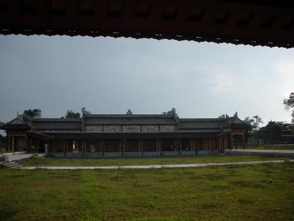 Entrada al Templo Hung Mieu. Ciudadela de Hue