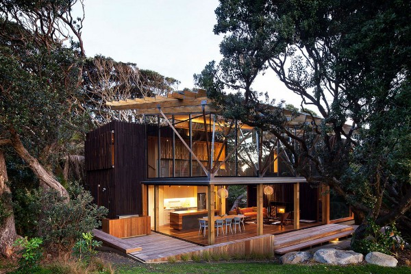 Pohutukawa Beach House « House of Dream