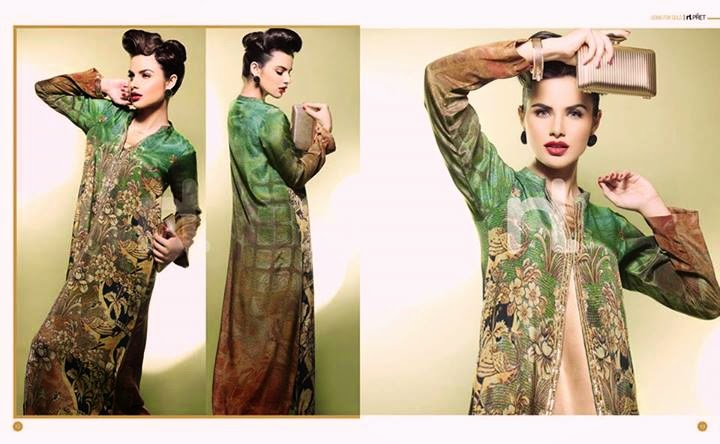 Nishat Linen EID Collection 2014