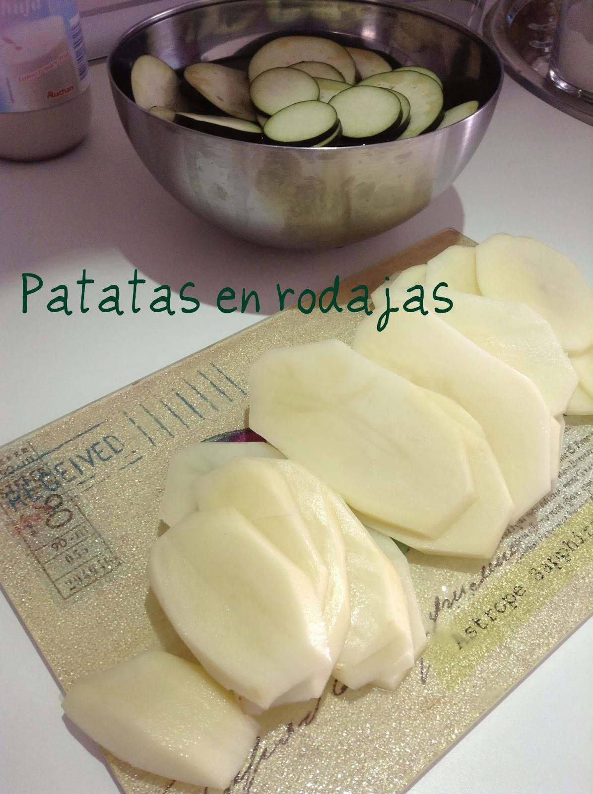 Patatas en rodajas