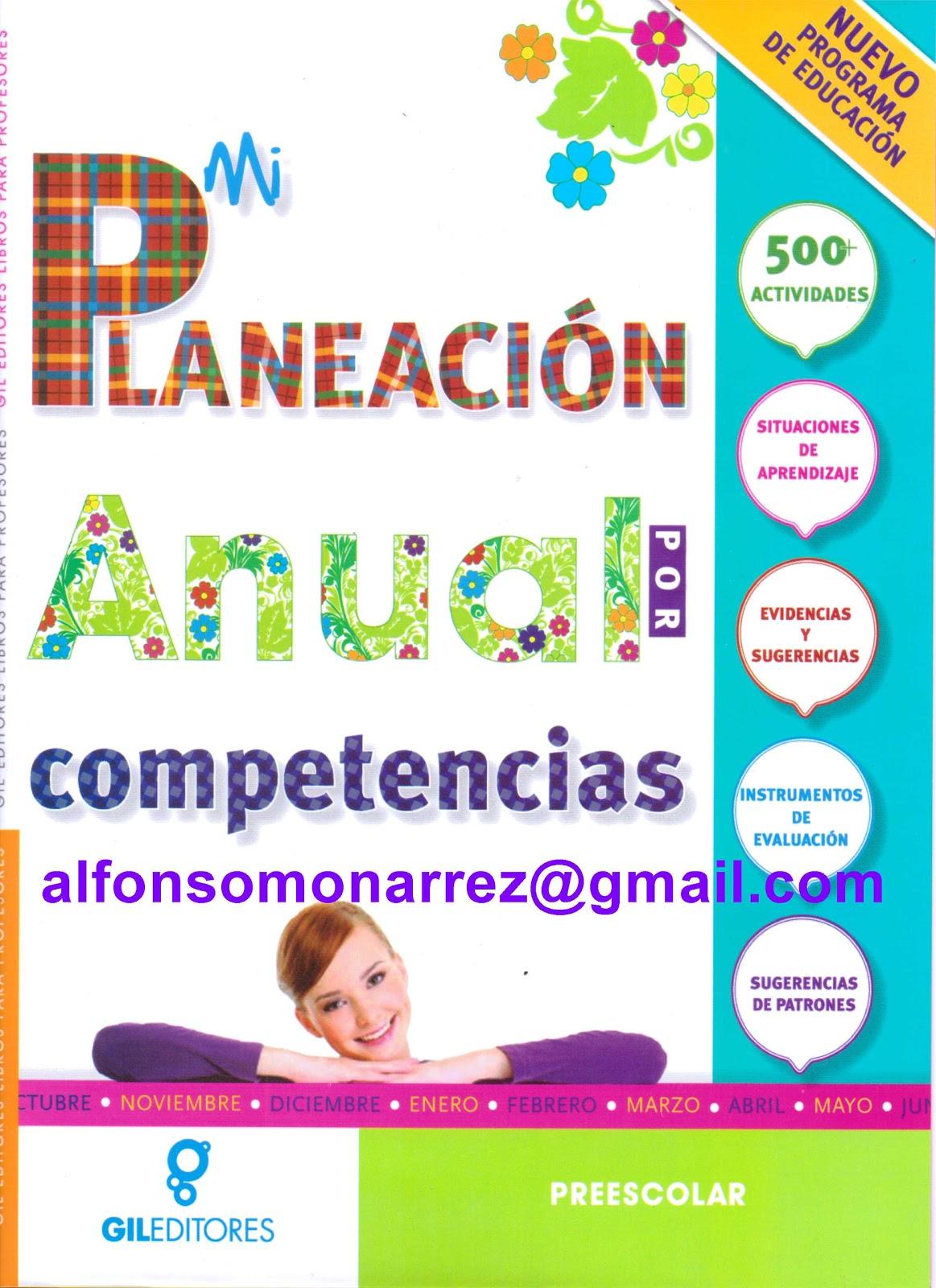 PLANEACI  NANUAL POR COMPETENCIAS Preescolar