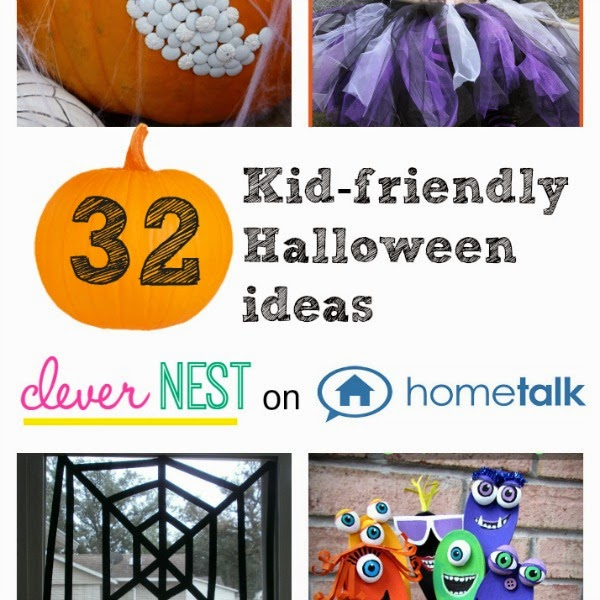 32 Kid-friendly Halloween Ideas #hometalk #roundup #clevernest