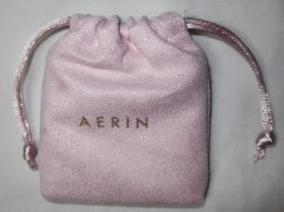 AERIN pink pouch