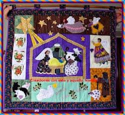 Belén en patchwork