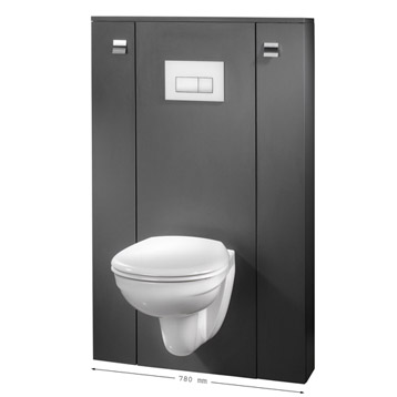 Achat plaque wc suspendu