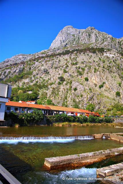 River gate. Kotor Montenegro