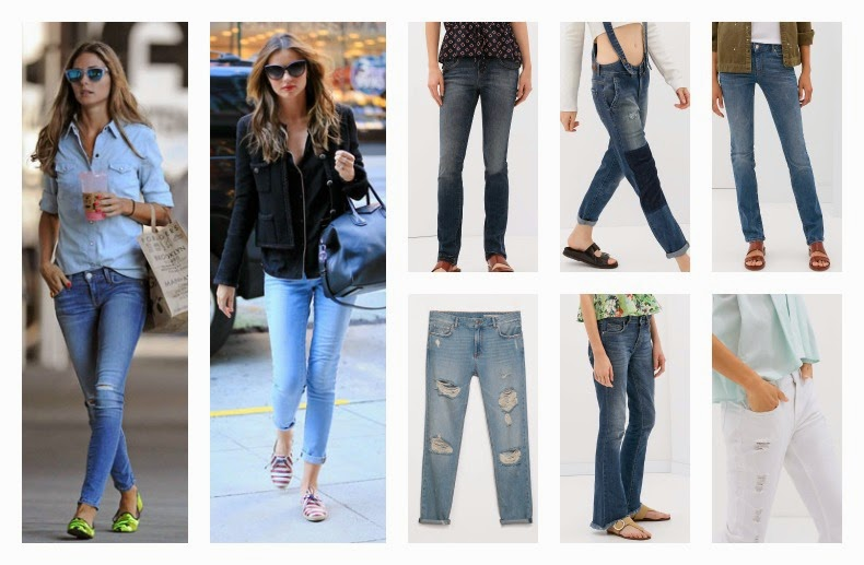 pantalones jeans primavera verano 2014