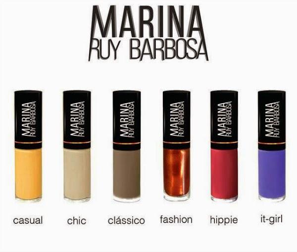 Marina Ruy Barbosa, Frescurites Femininas, Hits, Coleção de esmalte
