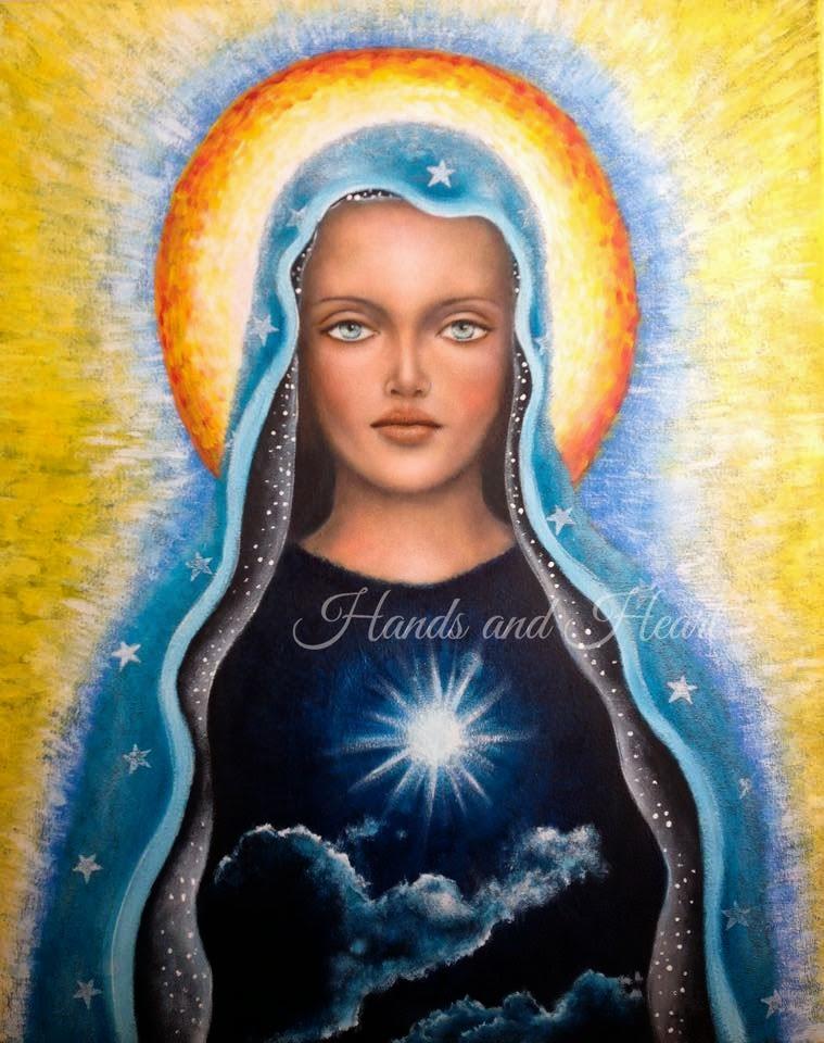 Originals on canvas by Monica Zuniga