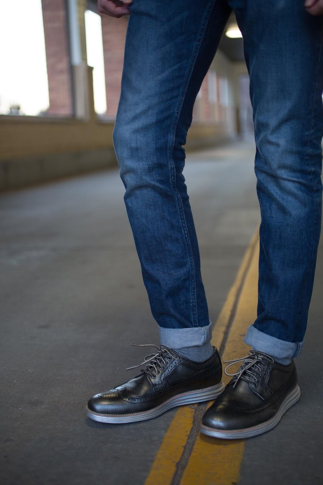 LunarGrand Metallic Long Wingtip Cole Haan Shoes