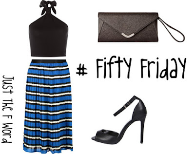 Fifty Friday | Paint The Town Striped