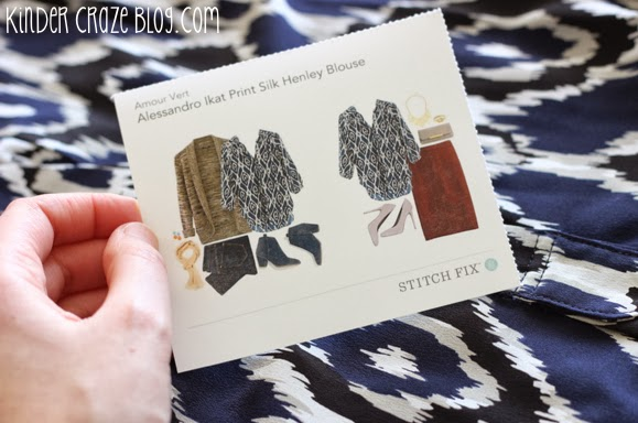 Stitch Fix online styling service. I LOVE these clothes!