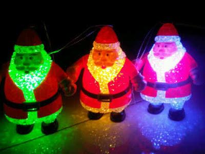 Hadiah Lampu Natal