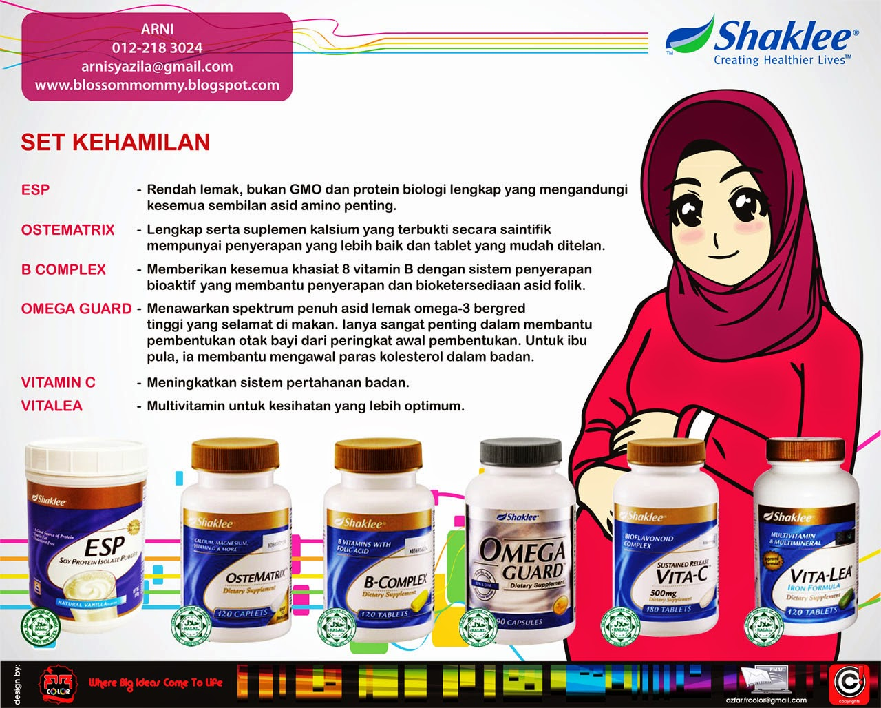 Vitamin Ibu Mengandung Shaklee