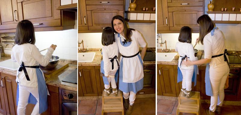 Decorar en familia: Delantal-disfraz de Alicia en el Pais de las Maravillas2