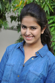 Acress Avika Gor Pictures in Pink Tight Jeans at Uyyala Jampala Movie Press Meet 0019.jpg