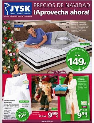precios de navidad JYSK 18-11-2013