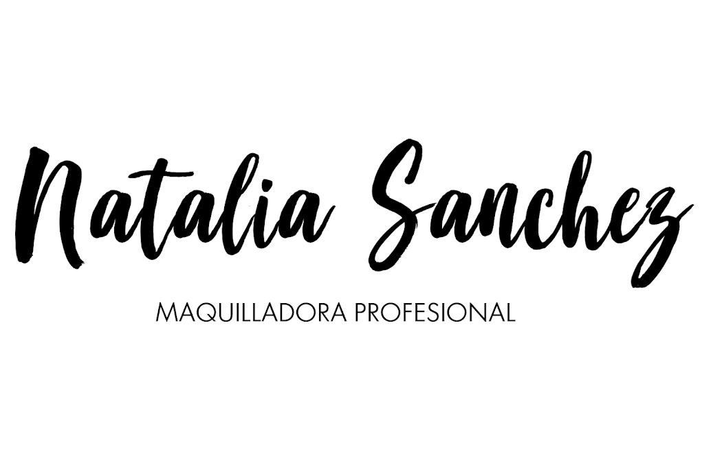 Natalia Sánchez - MAKEUP ARTIST