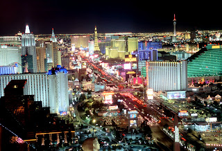Nighttime Strip View Las Vegas