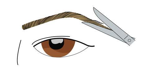 Tirar sobrancelhas passo 2