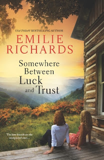 Book cover of Somewhere Between Luck and Trust
