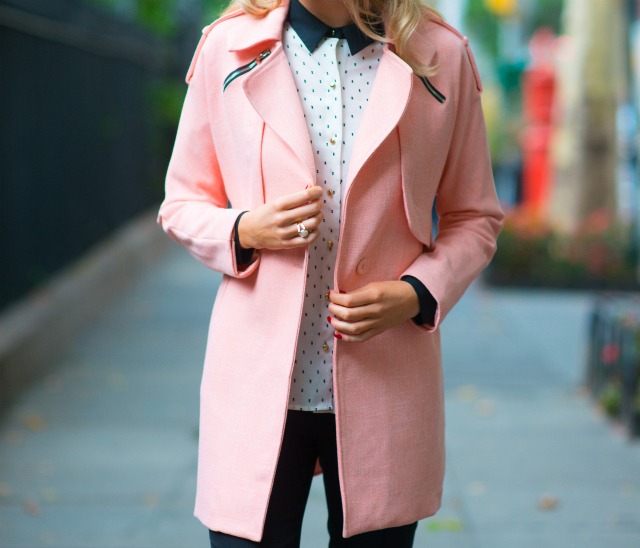 Coral Coat | MEMORANDUM | NYC Fashion & Lifestyle Blog for the ...