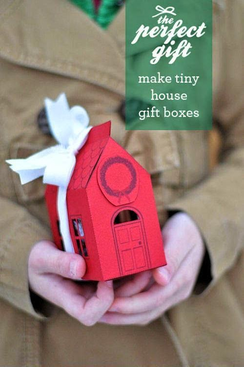 Cara Membuat Kerajinan Tangan Dari Kardus - Kotak Hadiah Mini ...