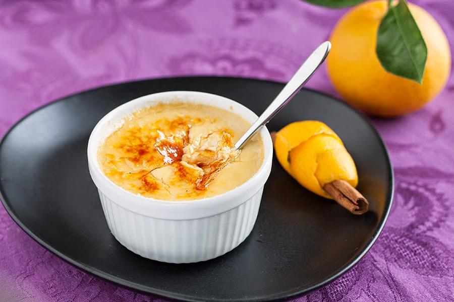 creme brulee mandarino