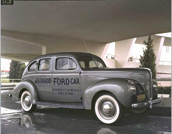 28-Millionth Ford Produced, 4-8-1940