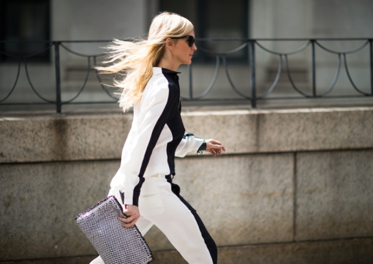black white trousers, black white outfit, black white fashion week