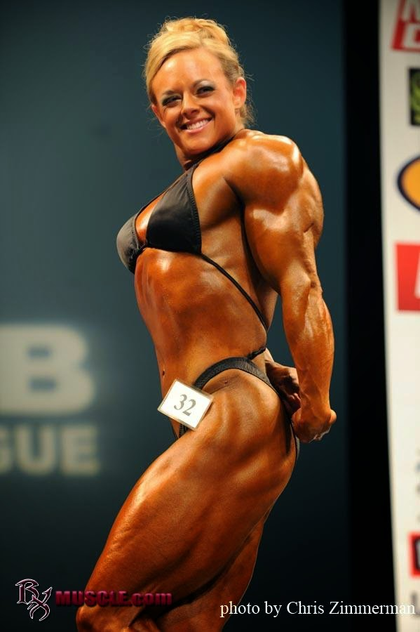 body building workout tips and advice: Female bodybuilder