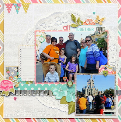 Magic Kingdom_Scrapbook Page_My Creative Scrapbook Main