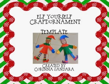 http://www.teacherspayteachers.com/Product/Elf-Yourself-CraftOrnament-454366