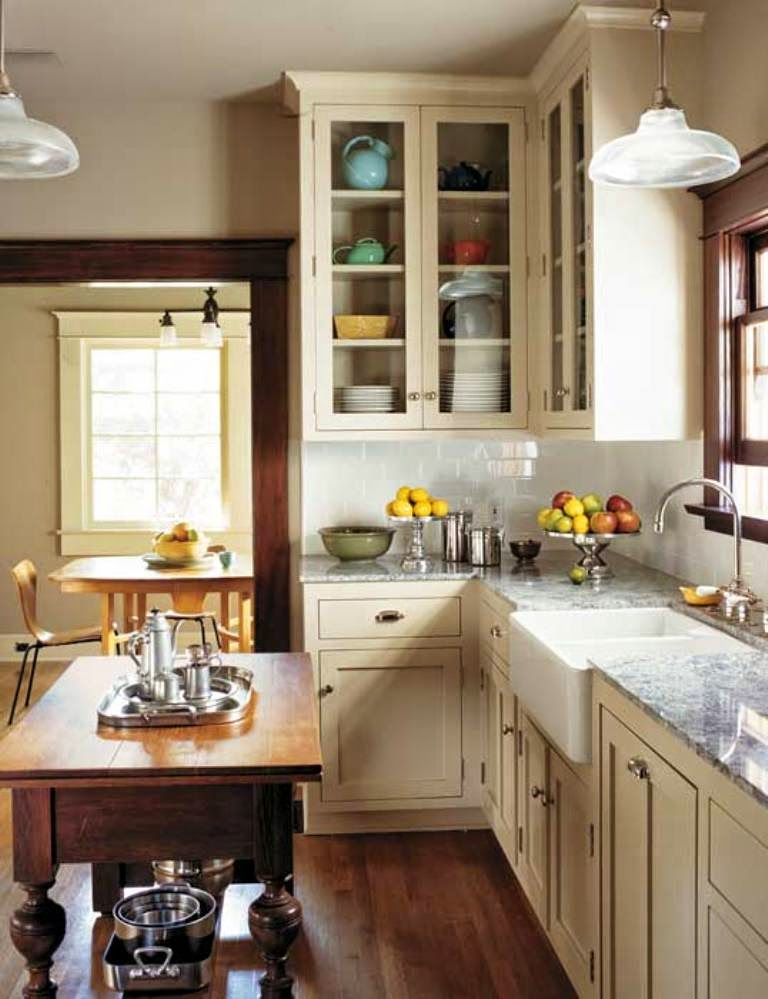 Classic timeless vintage kitchen decor home decorating ideas for Classic timeless kitchen designs