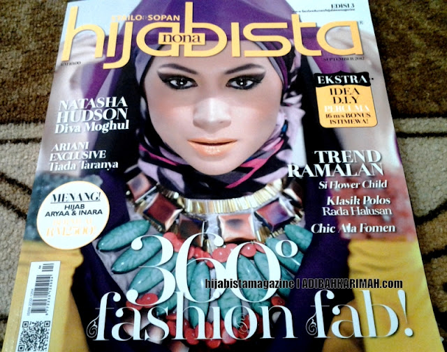 GLG in Hijabista Magazine september Issue featuring Hanis Haizi and the gang from Premium Beautiful Top Agents