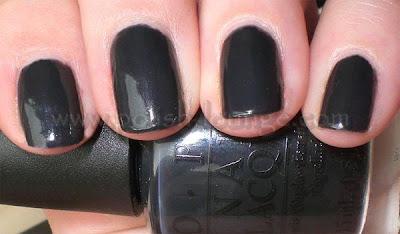 Spice up Black Nail Polish